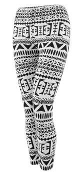 Aztec Leggings - £10 from Peacocks