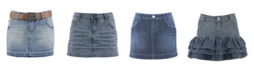 Denim Skirts are in - we said so
